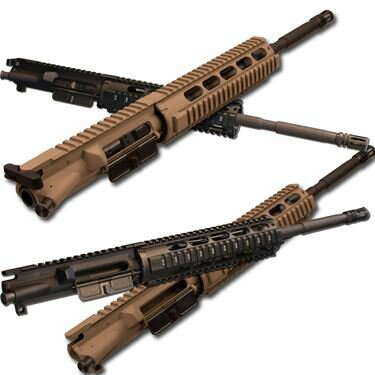 AR-15 Upper Assembly - 16in / .223 | 5.56 / 1:8 / 9in TGB AR-15 Quad Rail / Basic M4 Choices