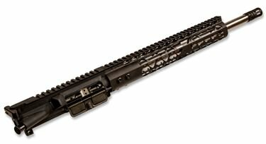 AR-15 Upper Assembly - 16in SS / 300 Blackout / 1:8 / 12in US Made Airlite KeyMod