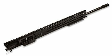 AR-15 Upper Assembly - 24in / 6.5 Grendel / 1:8 / 16.5in US Made Handguard / Key Mod Ultra Slimline Octagonal 5 Sided W/Shark Mouth Cut