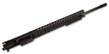AR-15 Upper Assembly - 24in | 6.5 Grendel | 1:8 | 16.5in US Made Handguard | Key Mod Ultra Slimline Octagonal 5 Sided W/Shark Mouth Cut | NO BCG