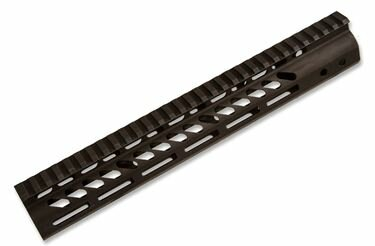 AR-15 Handguard | 12in US Made Guntec Handguard | M-Lok Ultra Light Weight