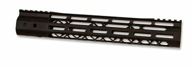 AR-15 Handguard | 12in US Made Guntec MOD LITE | M-Lok Skeletonized