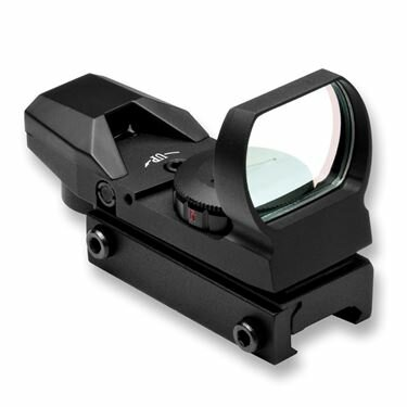 NcSTAR D4RGB Red & Green Dot Four Reticle Reflex Optic BLACK